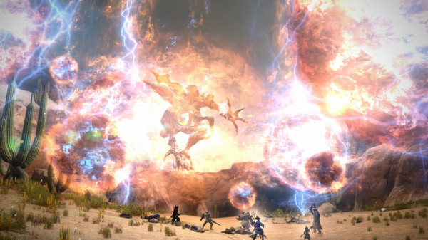 Screenshot 2: FINAL FANTASY XIV Online