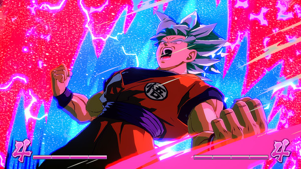Screenshot 1: DRAGON BALL FighterZ