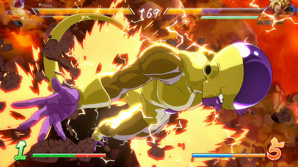 Screenshot 4: DRAGON BALL FighterZ