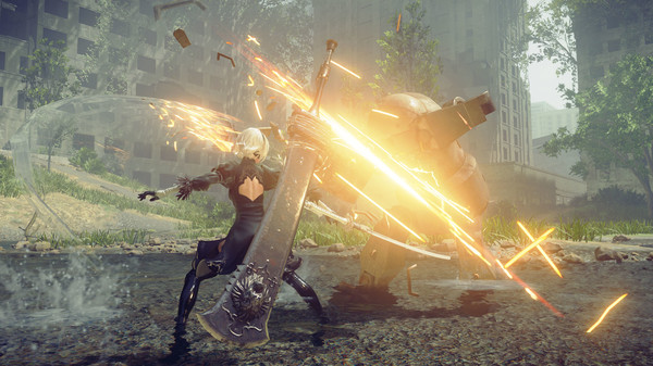 Screenshot 1: NieR: Automata