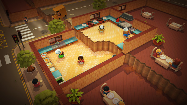 Screenshot 1: Overcooked