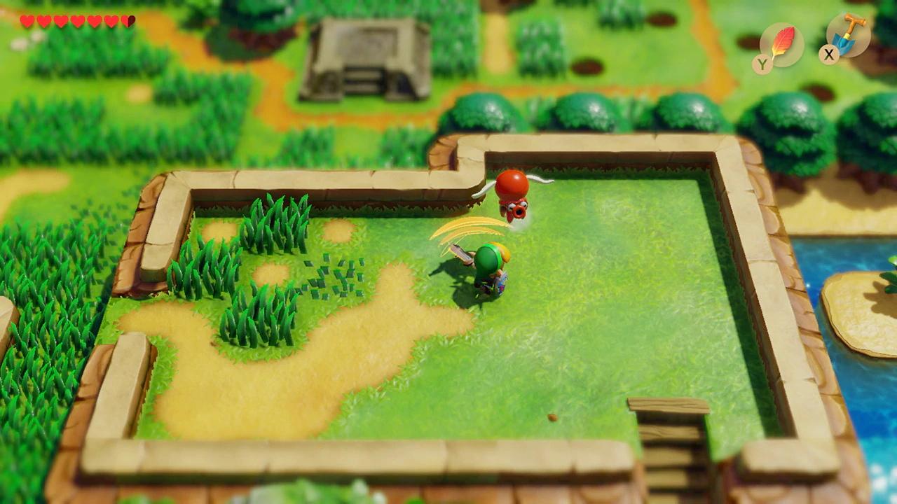 Screenshot 4: ゼルダの伝説 夢をみる島