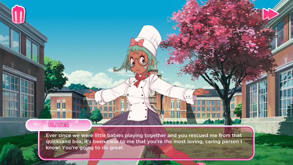 Screenshot 3: I Love You, Colonel Sanders! A Finger Lickin' Good Dating Simulator