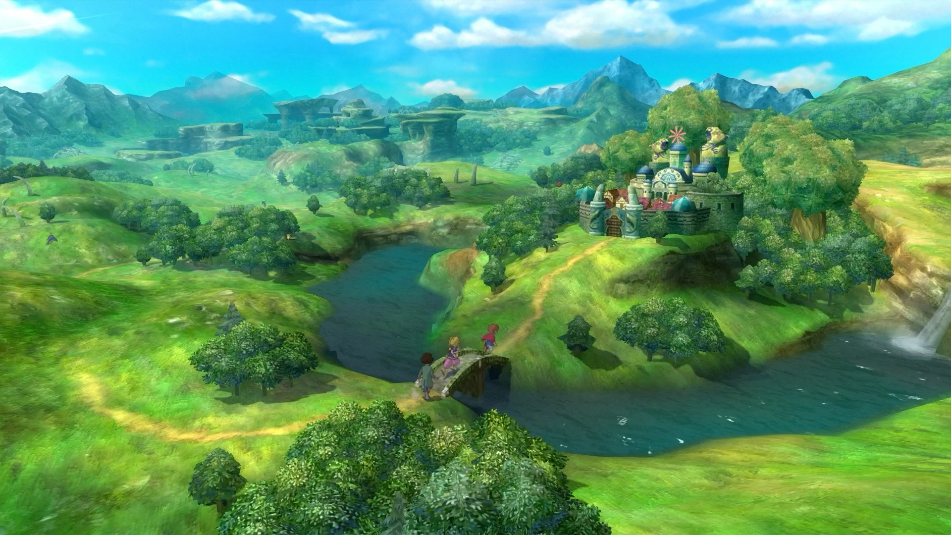 Screenshot 1: Ni no Kuni Wrath of the White Witch™ Remastered