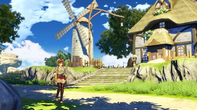 Screenshot 1: ライザのアトリエ ~常闇の女王と秘密の隠れ家~