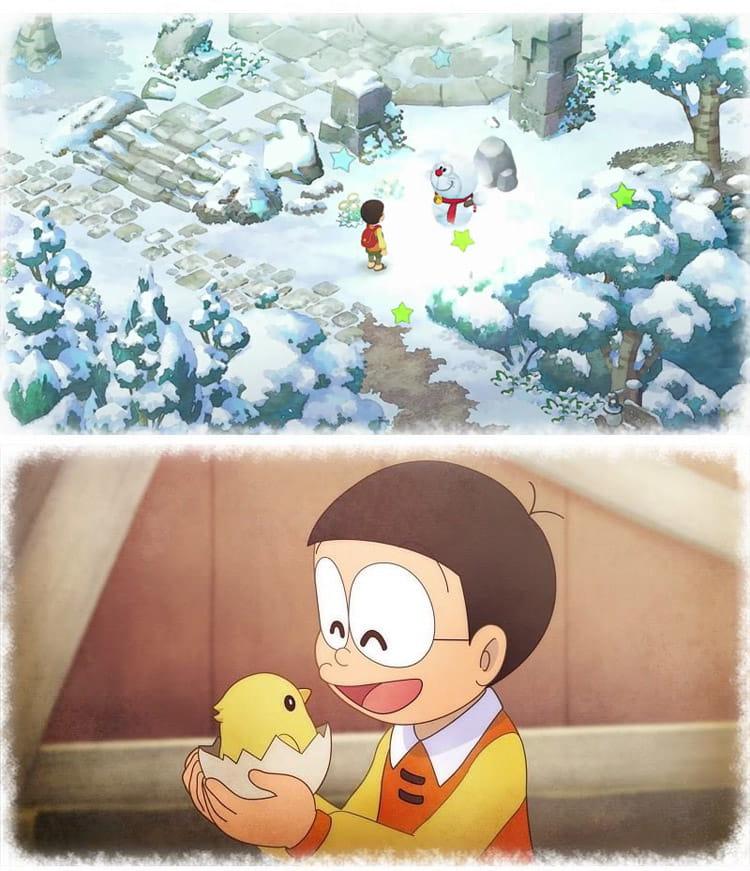 Screenshot 2: 哆啦A夢 牧場物語